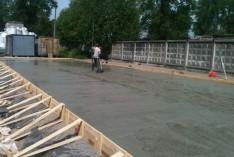 Строительство открытого навеса